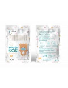 MASCARILLAS INFANTIL 10u/pack
